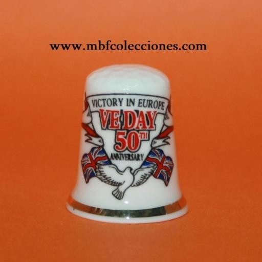DEDAL VICTORY IN EUROPE VEDAY 50TH ANNIVERSARY  RF. 02122