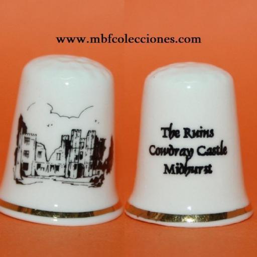 DEDAL THE RUINS COWDRAY CASTLE MIDHURST RF. 02118