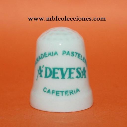 DEDAL PUBLICIDAD PANADERÍA PASTELERÍA A'DEVESA RF. 02130