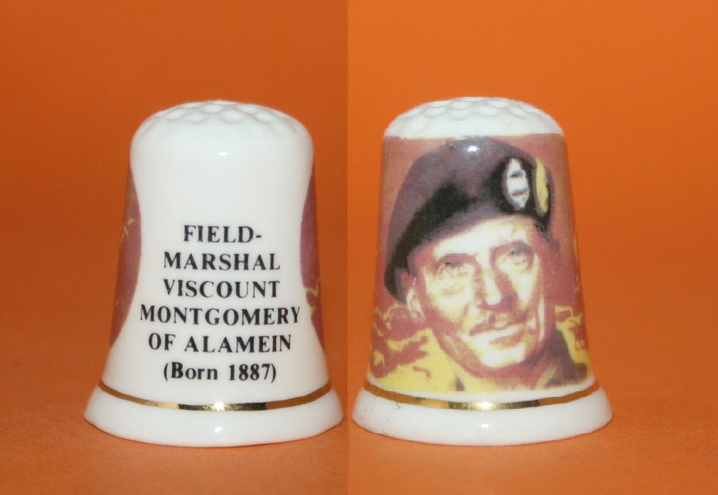 DEDAL FIELD-MARSHAL VISCOUNT MONTGOMERY OF ALEMAIN RF. 01614