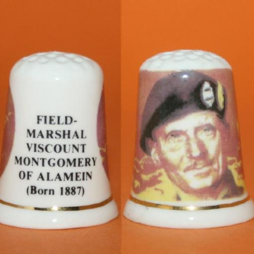 DEDAL FIELD-MARSHAL VISCOUNT MONTGOMERY OF ALEMAIN RF. 01614