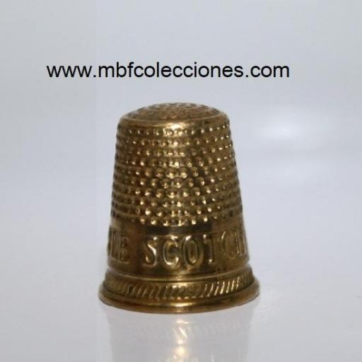 DEDAL GOLD THIMBLE SCOTCH RF. 04525