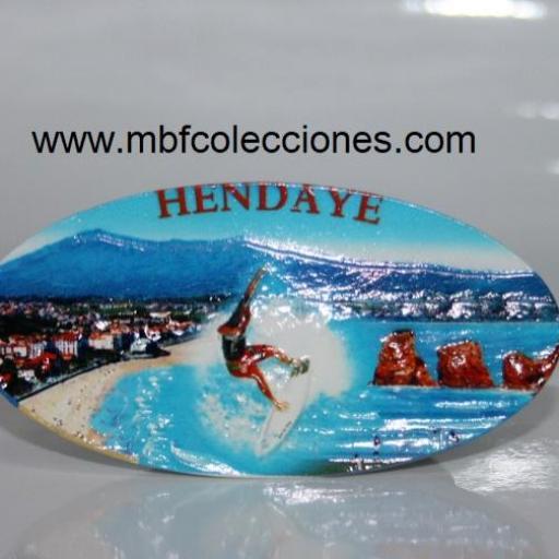 IMÁN RESINA HENDAYE  RF. 04612