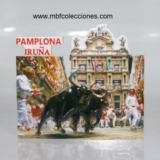 IMÁN RESINA PAMPLONA IRUÑA RF. 04620