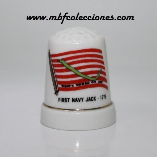 DEDAL BANDERA FIRST NAVY JACK RF. 04686