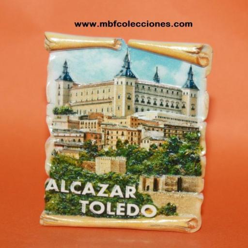 IMÁN ALCAZAR TOLEDO RESINA RF. 02278