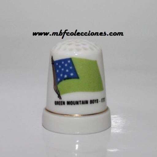 DEDAL BANDERA GREEN MOUNTAIN BOYS RF. 04692