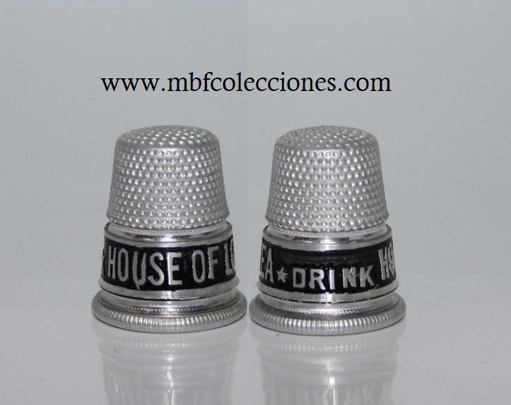 DEDAL ALUMINIO HOUSE OF LODS TEA . DRINK  RF. 04909