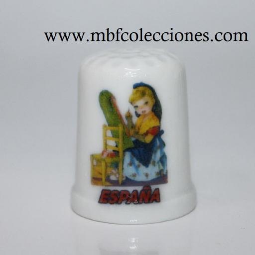 DEDAL BOLILLERA ESPAÑA  RF. 04959