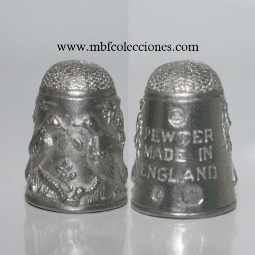 DEDAL PEWTER MADE IN ENGLAND  RF. 05634