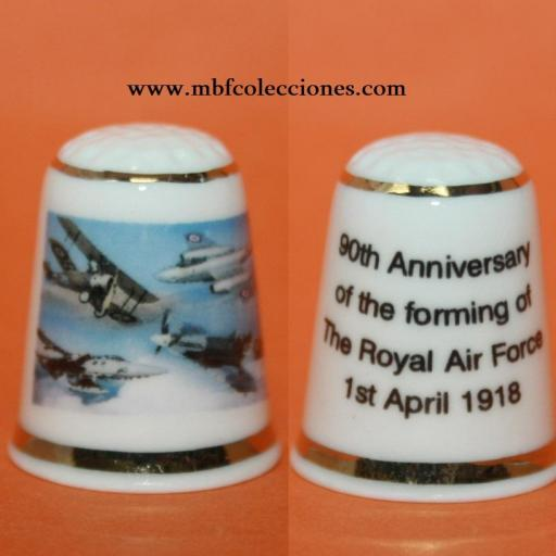 DEDAL 90 ANIVERSARIO THE ROYAL AIR FORCE  RF. 01869