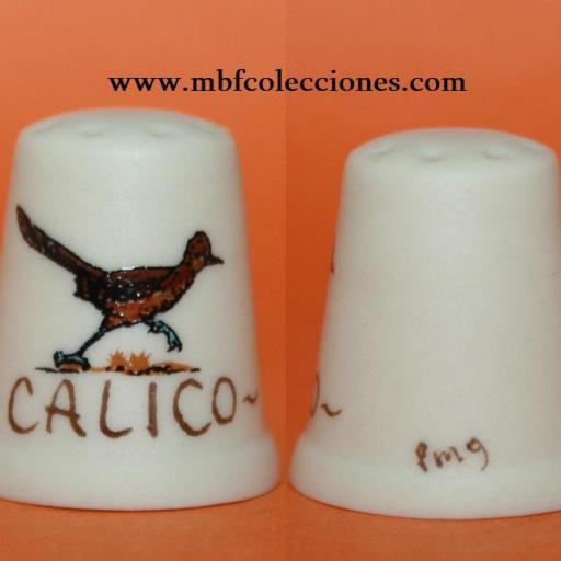 DEDAL CALICO PINTADO A MANO   RF. 01915