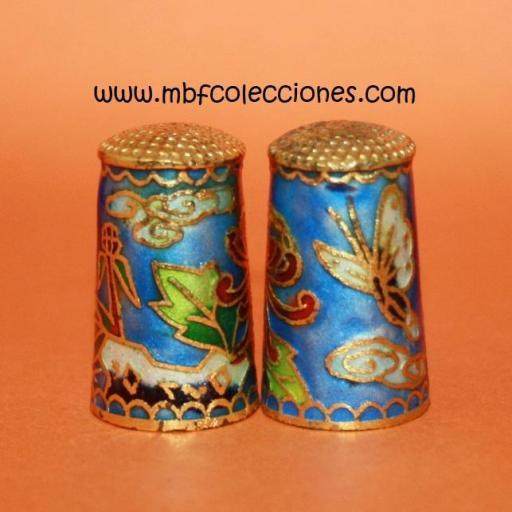 DEDAL MARIPOSA Y FLORES RF. 02573