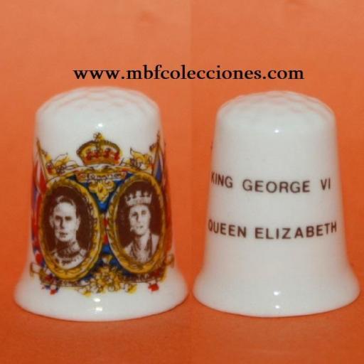 DEDAL REYES GEORGE VI Y QUEEN ELIZABETH RF. 02007