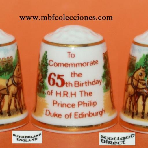 DEDAL TO COMEMMORATE THE 65TH. BIRTHDAY.... RF. 02033