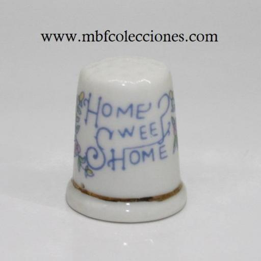 DEDAL HOME SWEE HOME (hogar dulce hogar) para colgante RF. 06016