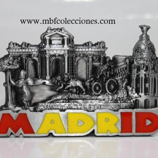 IMÁN METÁLICO MADRID RF. 06291