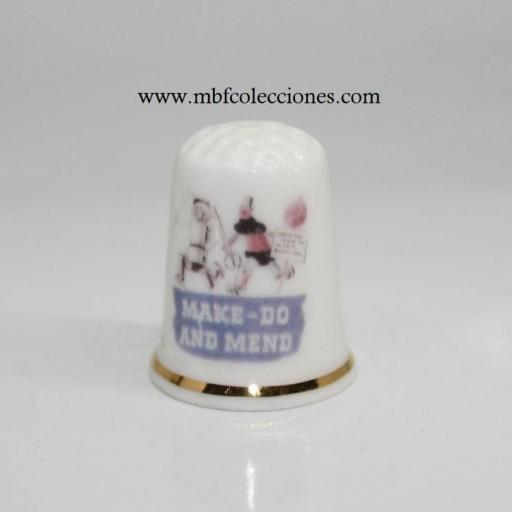 DEDAL MAKE-DO AND MEND - HACER Y REPARAR  ​RF. 06315