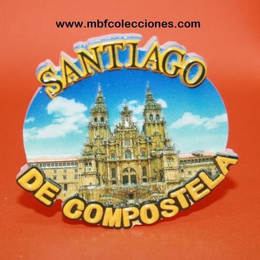 IMÁN SANTIAGO DE COMPOSTELA RF. 02890