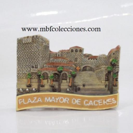 IMÁN PLAZA MAYOR DE CÁCERES RF. 06499