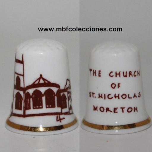 DEDAL THE CHURCH OF ST. MICHOLAS MORETON RF. 02943