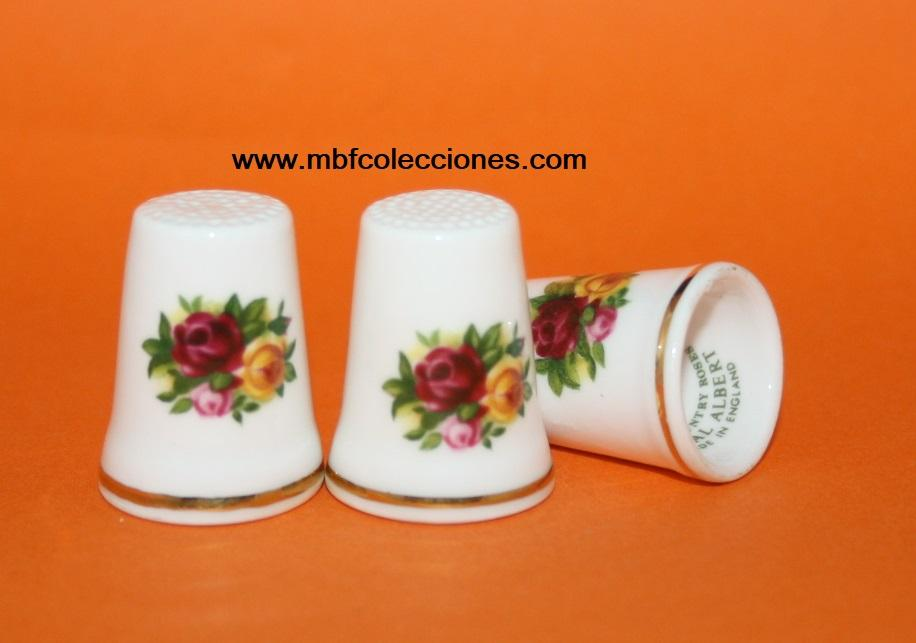DEDAL CON FLORES - OLD COUNTRY ROSES RF. 01204