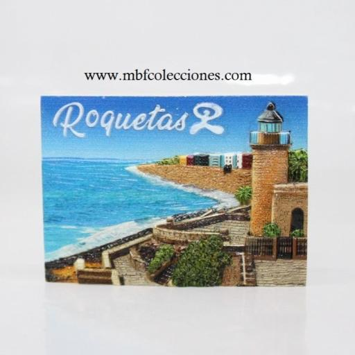 IMÁN RELIEVE ROQUETAS RF. 06672