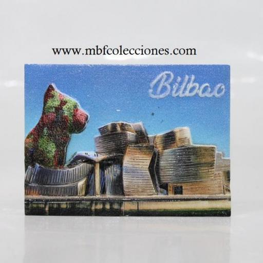 IMÁN RESINA RELIEVE BILBAO RF. 06736