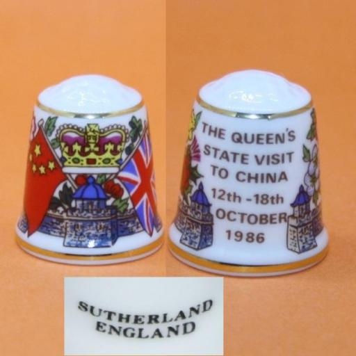 DEDAL THE QUEEN'S STATE VISIT TO CHINA RF. 01281