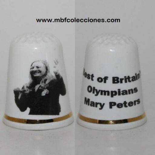 DEDAL BEST OF BRITALN´S OLYMPIANS MARY POTERS RF. 03601