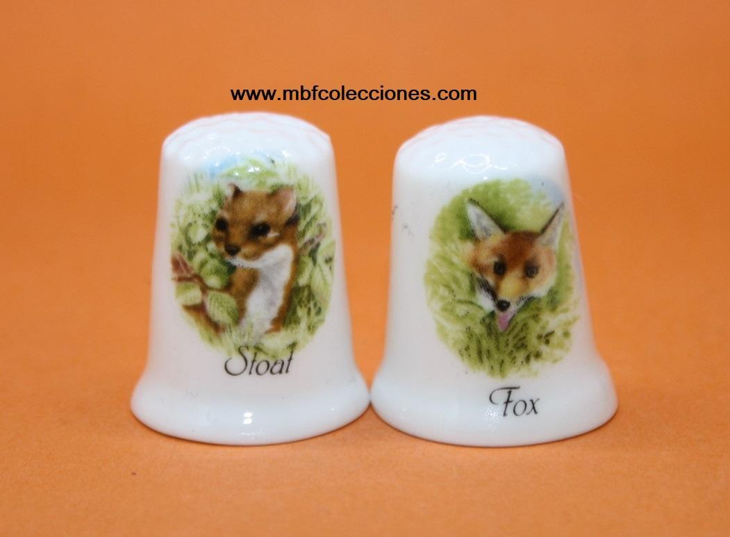 2 DEDALES STOAT Y FOX RF. 01346