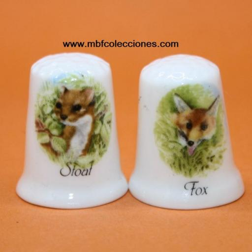 2 DEDALES STOAT Y FOX RF. 01346