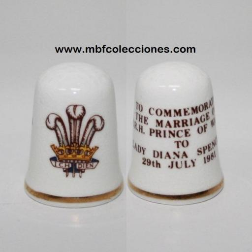 DEDAL CONMEMORATIVO DIANA SPENCER RF. 03785