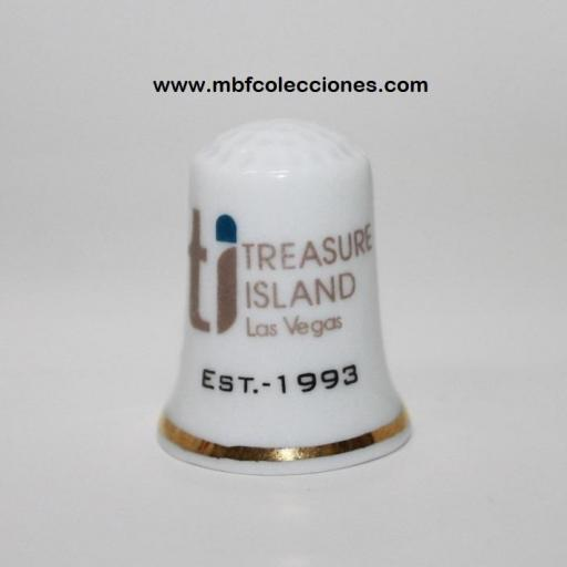 DEDAL TREASURE ISLAND LAS VEGAS RF. 03823