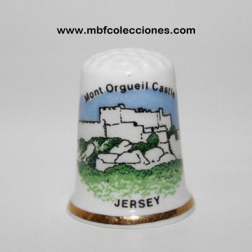 DEDAL MONT ORGUEIL CASTLE - JERSEY RF. 03816