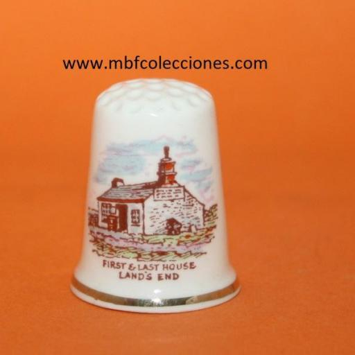 DEDAL FIRST & LAST HOUSE LAND'S END RF. 01483