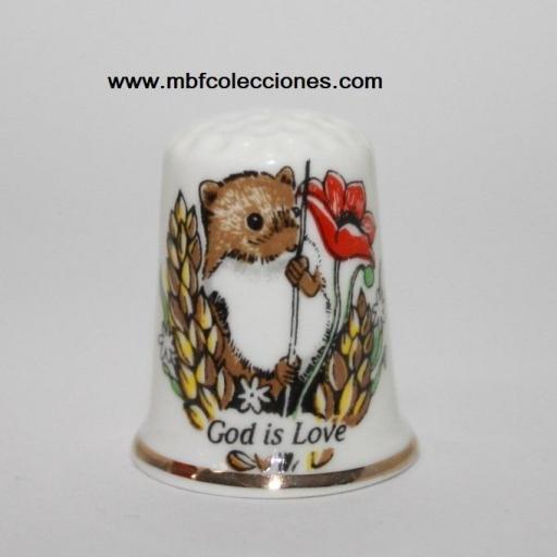 DEDAL GOD IS LOVE- DIOS ES AMOR RF. 04100