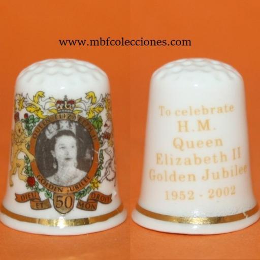 DEDAL H. M QUEEN ELIZABEH II RF. 01516