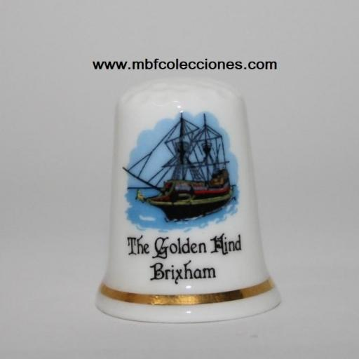 DEDAL THE GOLDEN HIND BRIXHAM RF. 04154