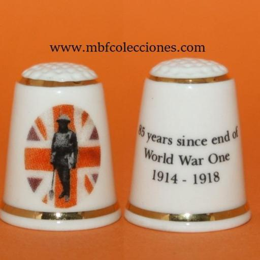DEDAL 85 YEARS SINCE END OF WORLD WAR ONE RF. 01538
