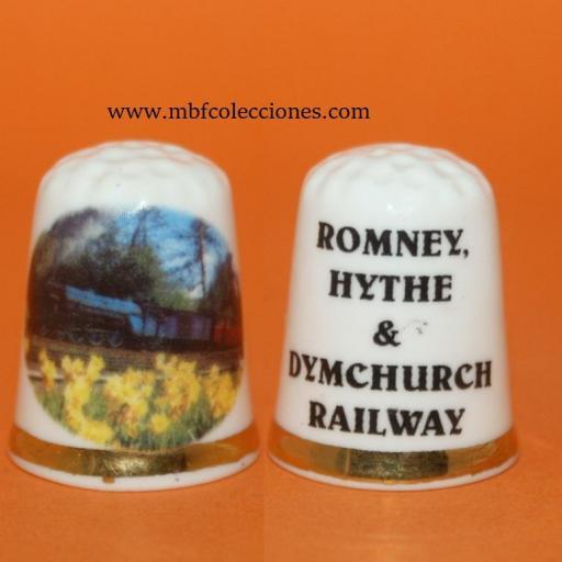DEDAL ROMNEY, HYTHE & DYMCHURCH RAILWAY RF. 01583