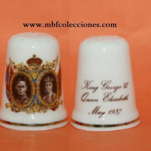 DEDAL KING GEORGE VI - QUEEN ELIZABETH RF. 02080