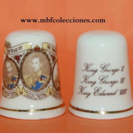 DEDAL REYES GEORGE V, GEORGE VI Y EDUARD VIII  RF. 02078