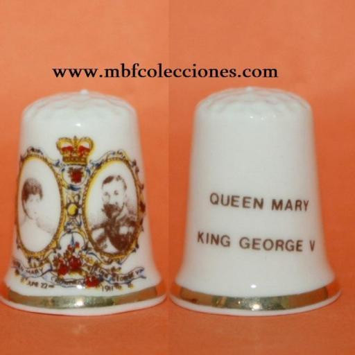 DEDAL QUEEN MARY Y KING GEORGE  RF. 02076