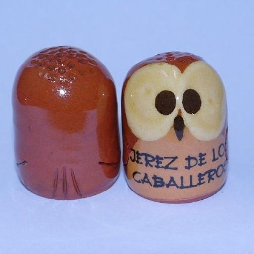 DEDAL BÚHO JEREZ DE LOS CABALLEROS RF. 0470