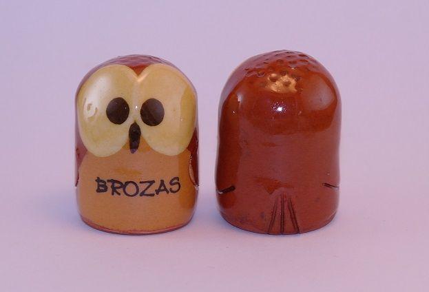 DEDAL BÚHO BROZAS RF. 0492