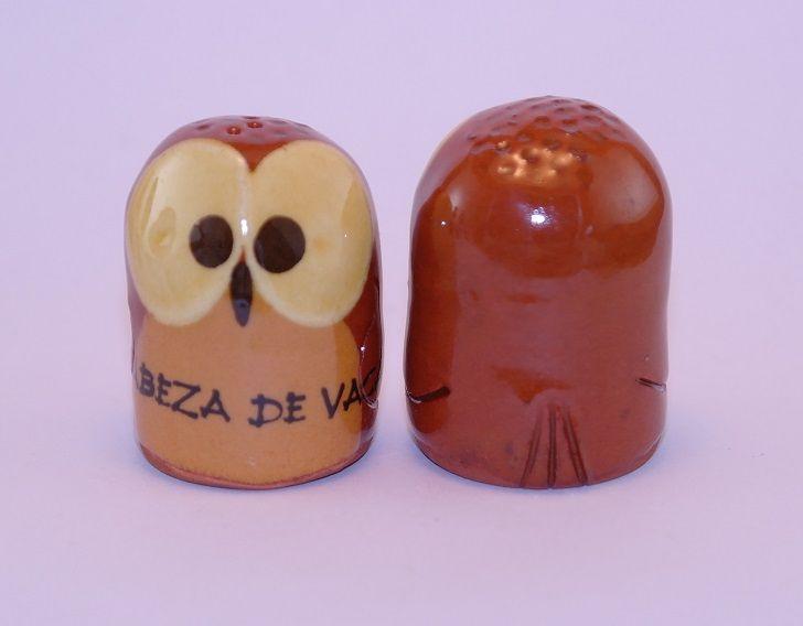 DEDAL BÚHO CABEZA DE VACA RF. 0493