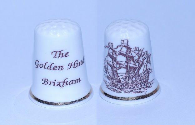 DEDAL THE GOLDEN  HIND BRIXHAM RF. 0561