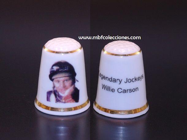 DEDAL LEGENDAY JOCKEYS WILLIE CARSON RF. 0622