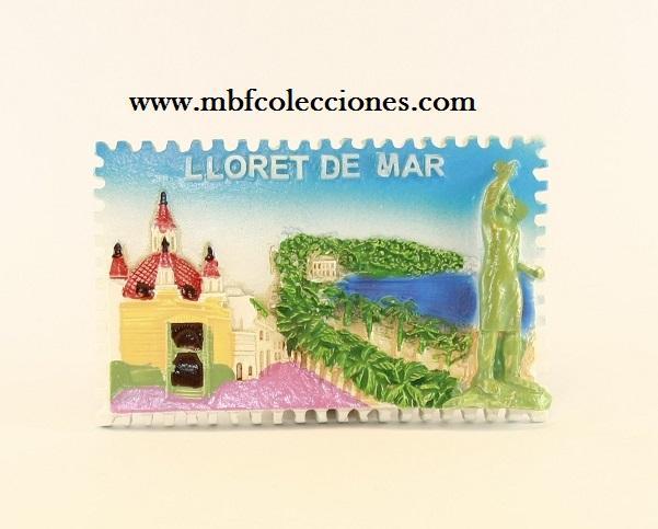 IMÁN LLORET DE MAR RF. 0854